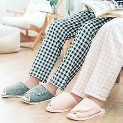 Women Extra Wide Slippers Diabetic Edema Flat Feet Bunions S