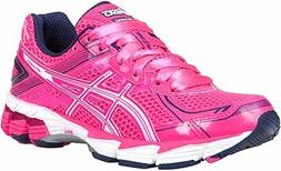 ASICS Women's GT-1000 2 PR Running Shoe, Hot Pink/White/Blue
