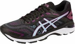 ASICS Women's GT-2000 7 Running Shoe, Black/Skylight, 12 B U