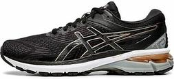 ASICS Women's GT-2000 8 Running Shoe, Black/Rose Gold, 10 B
