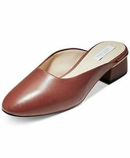Cole Haan Women's Laree Slide Shoes Sandal Leather Brown 7.5