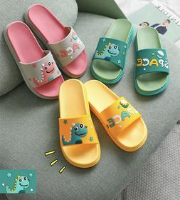 Women's or Men Slippers Cartoon Slides Shoes Flip Flops Sand