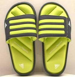 Adidas Zeifrei Slide K AF4321 Gray / Green US Size 2 - FREE